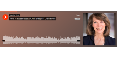New Massachusetts Child Support Guidelines