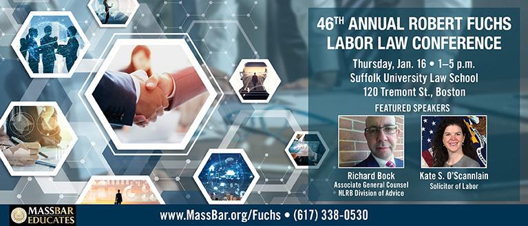 46th Annual Robert Fuchs Labor Law Conference