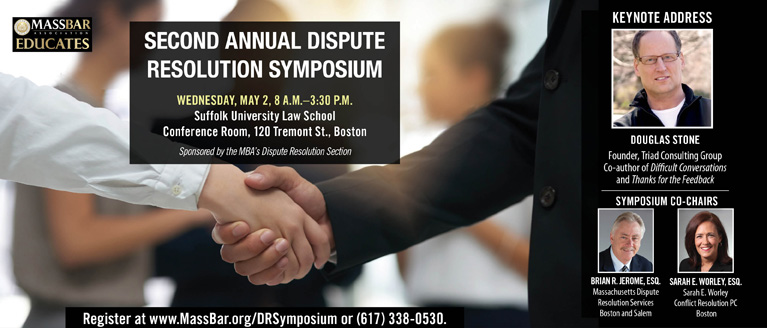 Second Annual Dispute Resolution Symposium
