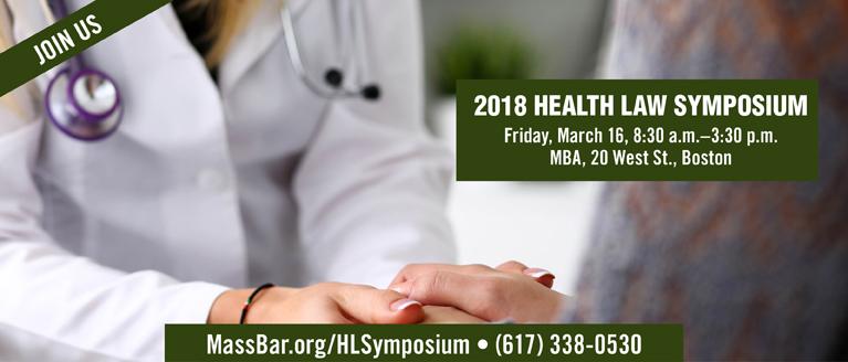 2018 Health Law Symposium