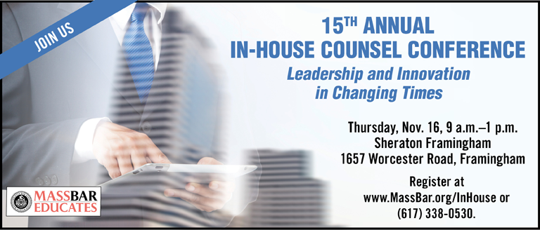 15th Annual In-House Counsel Conference
