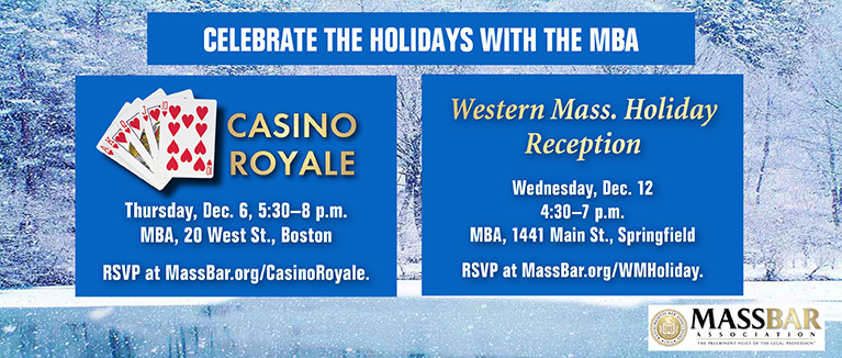 Celebrate the holidays with the MBA