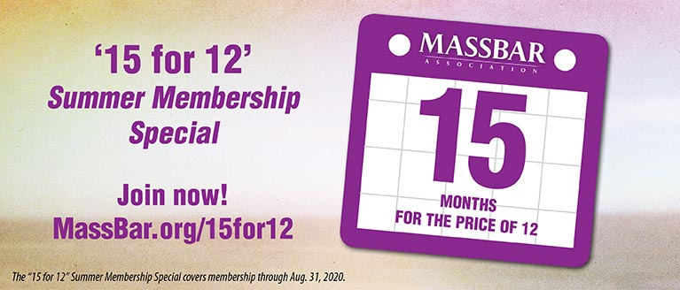 '15 for 12' Summer Membership Special