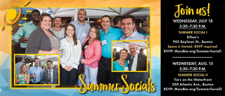 2018 Summer Socials