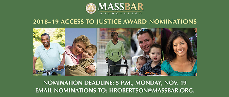 MBA Access to Justice Award Nominations
