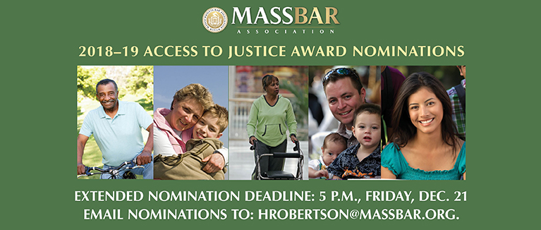 EXTENDED DEADLINE: MBA Access to Justice Award Nominations
