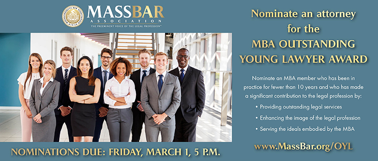 MBA Outstanding Young Lawyer Award
