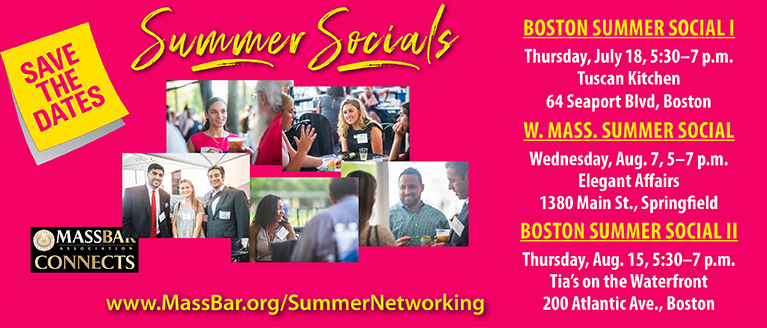 2019 Summer Networking Series