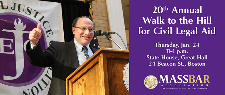 Walk to the Hill for Civil Legal Aid