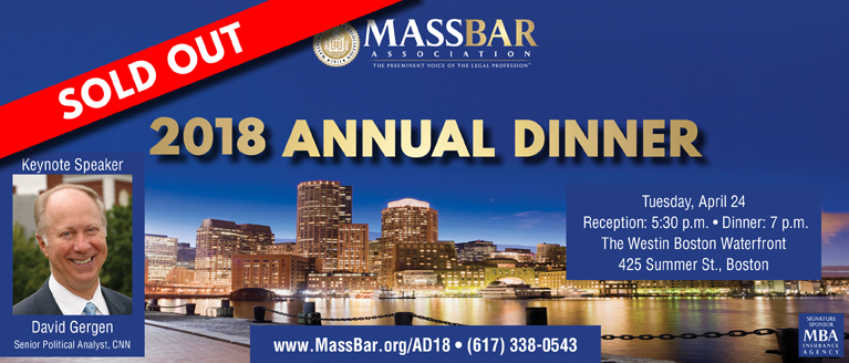 SOLD OUT: 2018 MBA Annual Dinner
