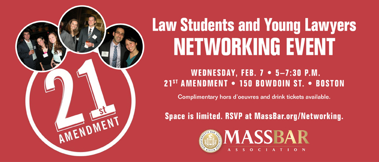 Law Student/YLD Networking Event February 2018