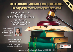 2017 Probate Law Conference