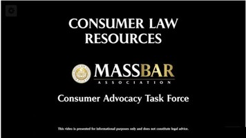 Consumer Law Resources Video